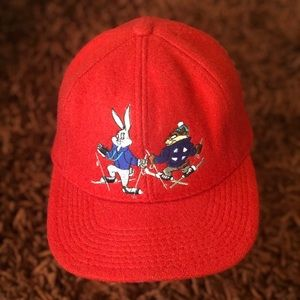 "VTG. 91"" Looney Valley Ski Patrol Cap"